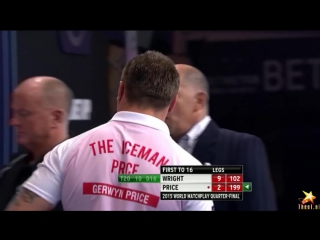 Peter Wright vs Gerwyn Price (World Matchplay 2015 / Quarter Final)