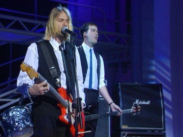 Nirvana Rape Me Live On Nulle Part Ailleurs Paris France 1994