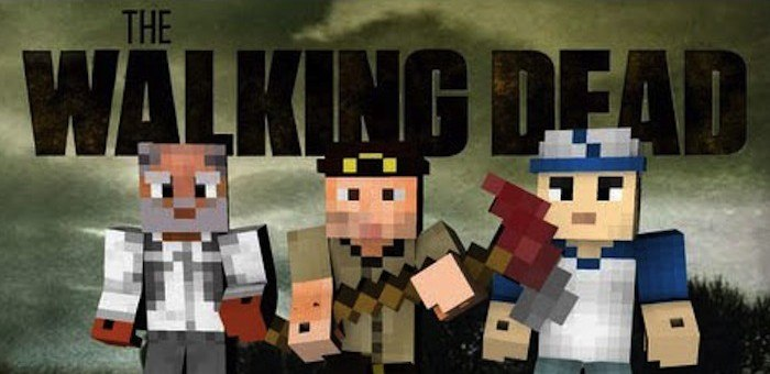 мод the walking dead для майнкрафт 1 7 2 #3