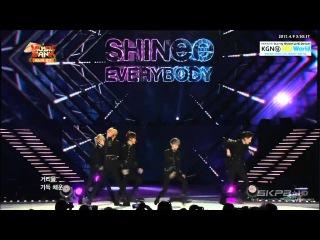 150408 SHINee (샤이니) - Talk + Everybody (에브리바디) @ Music Bank in Ha Noi 2015