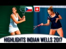 Pliskova Ka vs Bacsinszky T Highlights Indian Wells 2017