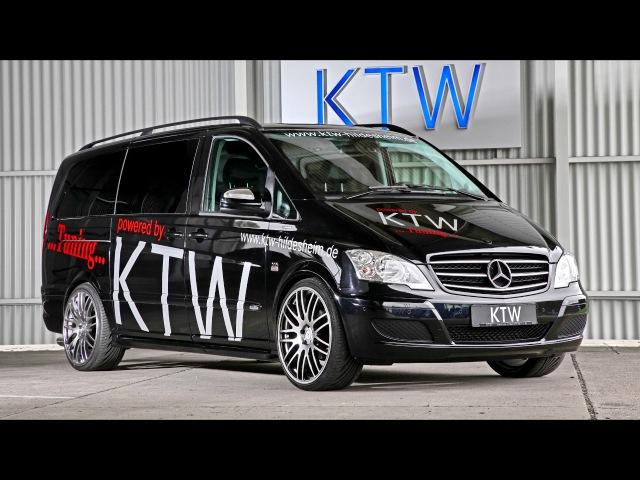 KTW Tuning Mercedes Benz Viano W639 2013