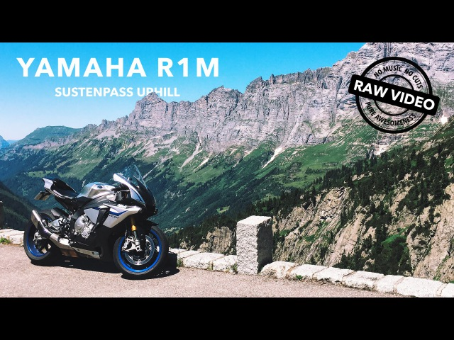 Yamaha R1M on the Sustenpass 4K RAW Onboard