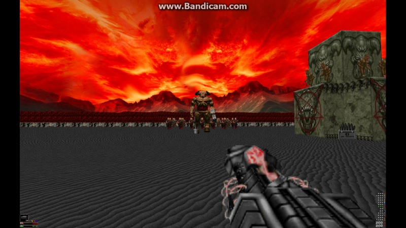 Doom: Russian Overkill. Самое безумное оружие и монстры. Doom1 Doom2 моды launcer.