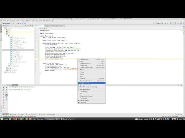Урок по Java часть 106 Swing 11 Компоненты выбора RadioButton RadioGroup ComponentBox Border