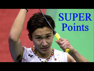 Top 10 SUPER points by Kento Momota