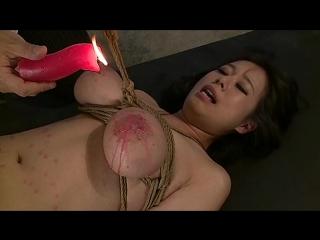 Большие сиськи БДСМ. Опытная 33 года замужняя Shiori Tsukada.