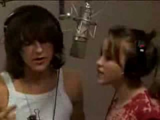Mitchel Musso & Emily Osment-recording If I Didn't Have You (With lyrics)