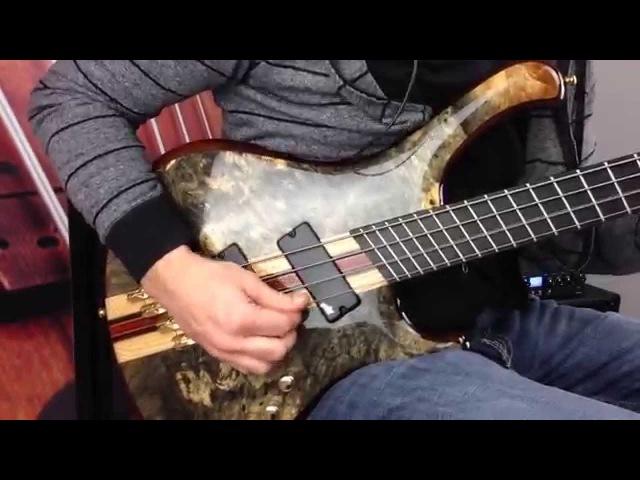 Mayones Custom Pi4 V-Frets - Wojtek Pilichowski Demo