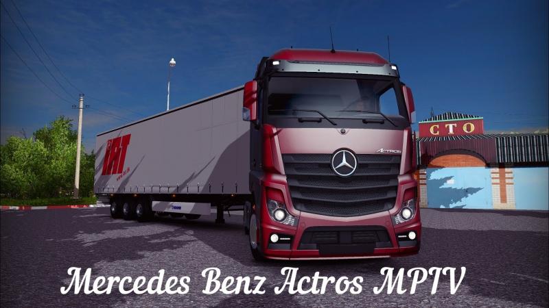 [ETS2 v1.10.1.12s] Mercedes Benz - Actros MPIV » FreeWka - Смотреть онлайн в хорошем качестве