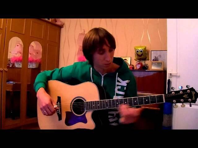 Lambada fingerstyle guitar English subs урок табы