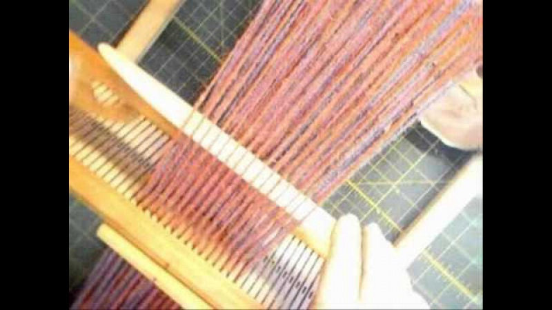 Rigid Heddle Loom Double Weave Tube Double Wide Cloth