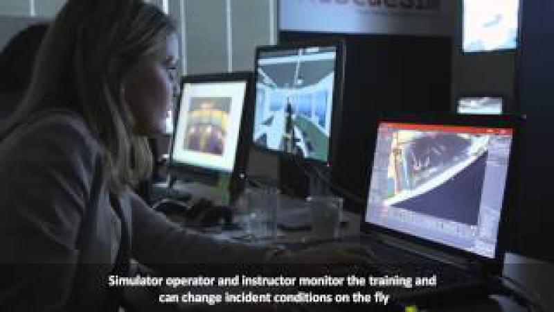 STCW Advanced Fire Fighting Simulator