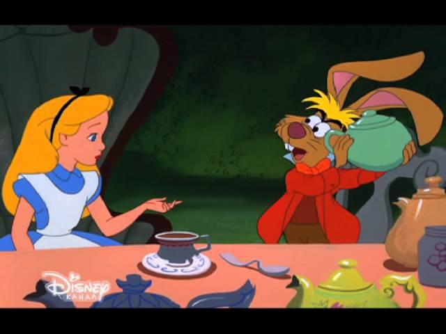 «Алиса в стране чудес» на Канале Disney!