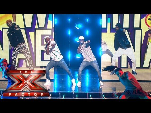 Watch Reggie 'N' Bollie Whip... Watch them Nae Nae | Live Week 5 | The X Factor 2015