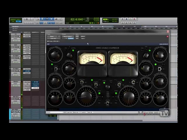 SKnote STEREO DOUBLE COMPRESSOR - Cheapest 2bus MIX and MASTERING High End Compressor Plugin