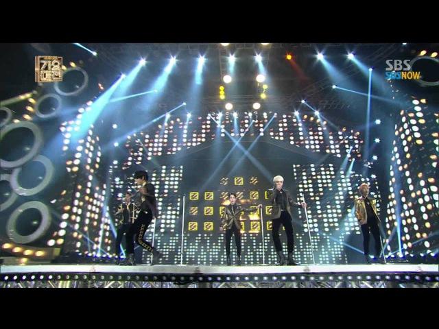 [2013가요대전] - 샤이니(SHINee) 엑소(Exo) 'EverybodyDream Girl'