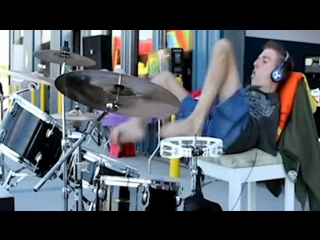 Armless drummer your aw will drop