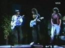 Gillan, Glover and Blackmore Dancing.