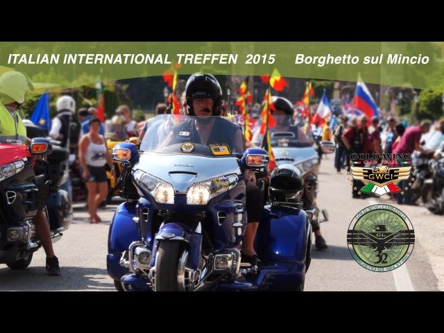 GoldWing International treffen 2015 Borghetto sul Mincio