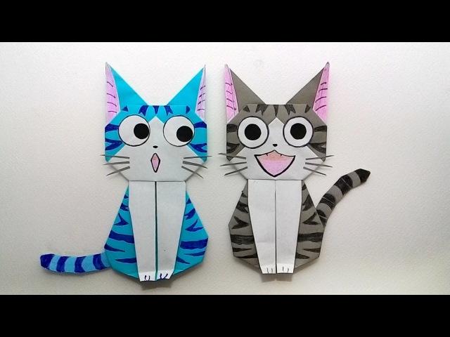 Origami cat Chi's sweet home พับกระดาษ แมวจี้ บ้านนี้ต้องมีเหม