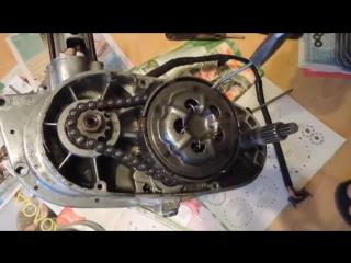 Реставрация мотоцикла Минск_ Разборка двигателя. Часть 4