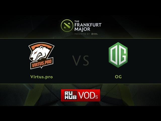 VP vs OG, Fall Major, LB Round 4, Game 3