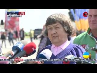 Мать Савченко: Расстреляйте меня на месте, я не признаю, что мой ребенок виноват