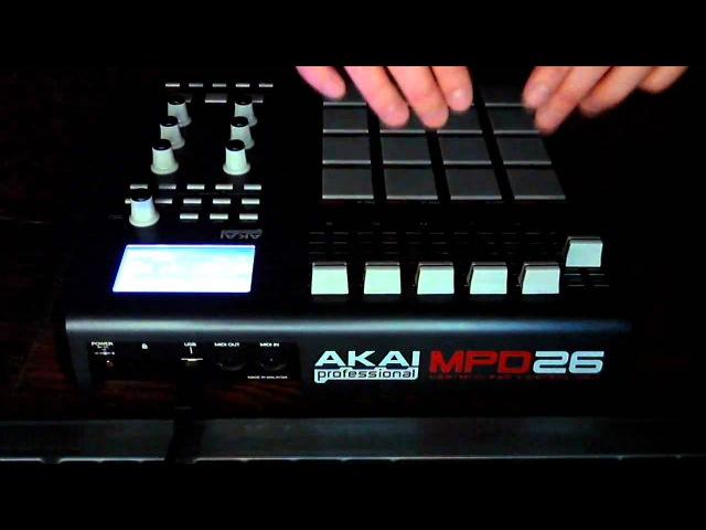 Exorus Beatz Live Akai MPD26 Beatmaking
