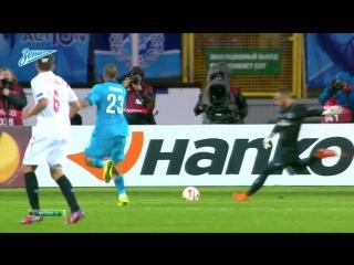 Лига Европы, 1/4 финала. Зенит 2-2 Севилья