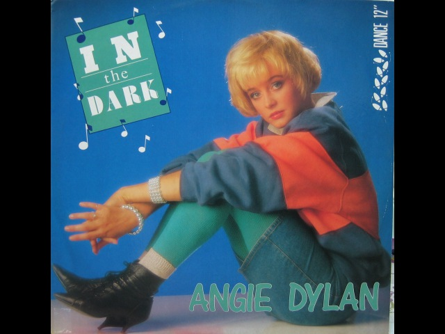 Angie Dylan In The Dark 1987 Cara A MAXI