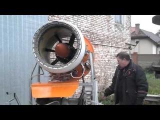 Снігова гармата приїде в Savich-Park Тернопіль 20 листопада 2015 року