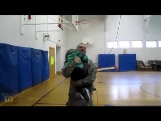 Soldiers coming home surprise compilation 9