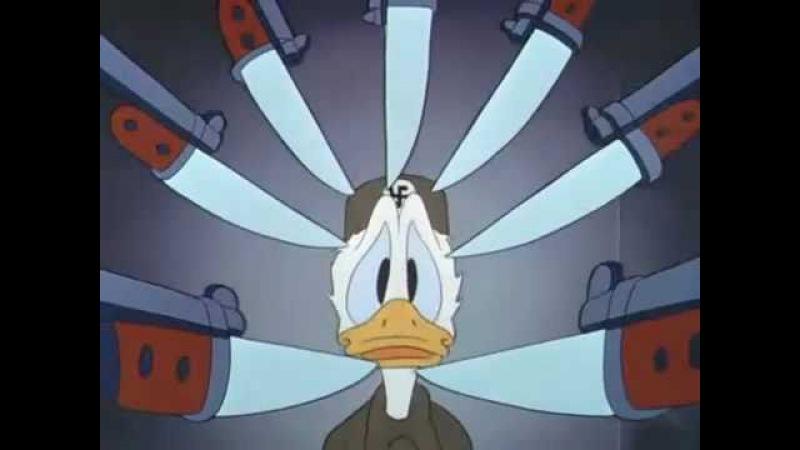 Donald Duck - Der Fuehrer's face   eng sub