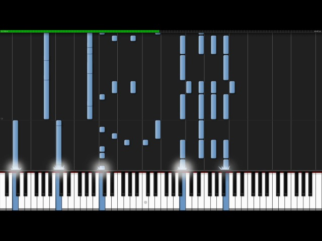 ALIEz - Aldnoah.Zero (Ending 2) [Piano Tutorial] (Synthesia) Animenz