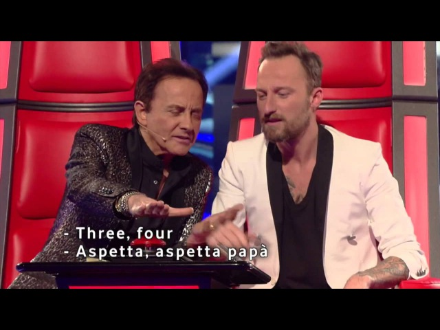 Ira Green Black dog Led Zeppelin cover live @ The Voice of Italy RAI2 Blind Audition