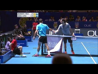 IPTL 2016 Match 12: Point Of The Match (Men's Doubles - Ivan Dodig)