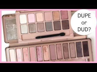 Dupe or Dud: Urban Decay Naked3 vs. Maybelline The Blushed Nudes | Bailey B