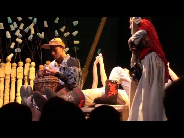Коляда-театр. Вишневый сад, 1-й акт.
