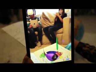 Живые раскраски и сказки 3D Devar Kids с Дополненной реальностью