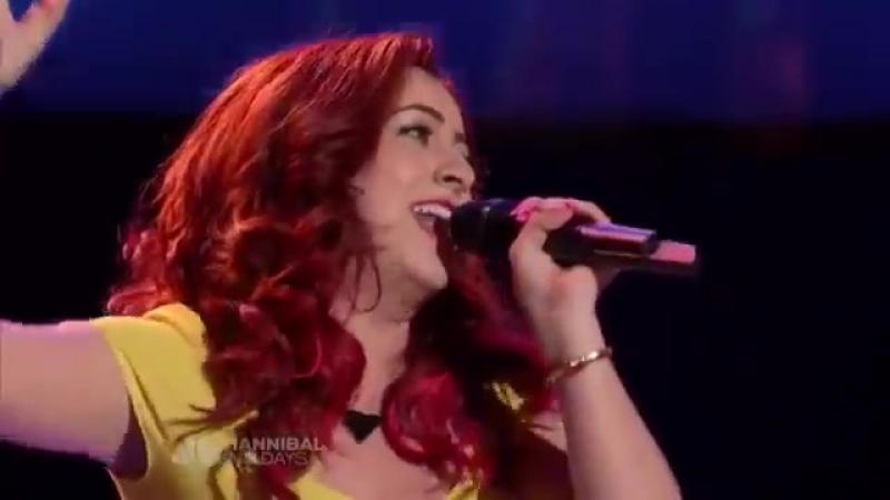"""Monique Abbadie """"Loca"""" - The Voice Full Audition"""