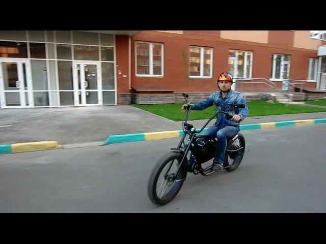 Обзор электро велочоппера Megavel Bronco Extreme