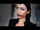 Vampier Halloween Make up Tutorial ShelingKamkes