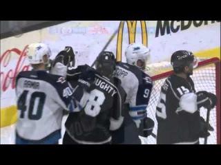 Game №82. Winnipeg Jets Vs. Los Angeles Kings 4:3 (SO) (0:2, 2:1, 1:0, 0:0, 1-0) - (Обзор Матча) - ()