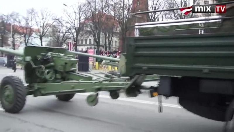 Военные парады ЛАТВИЯ Le defile militaires LETTONIE