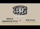 Wave Animation Style vs Pop Style Special Battle Touch The Style Vol 1 Allthatstreet