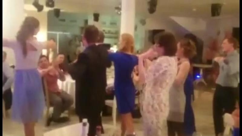 Отжигательный флешмоб свадьба Юленьки и Николя