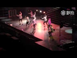 160424 EXO Call me baby at K-pop top group concert in Shenyang[Fancam]