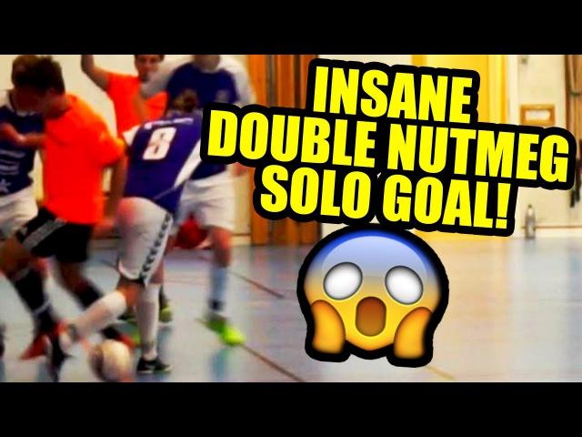 Perfect Skills   SKILLTWINS INSANE DOUBLE NUTMEG SOLO GOAL! ★