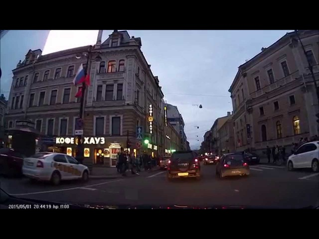 Санкт Петербург Весь Невский проспект HP f100 Full HD